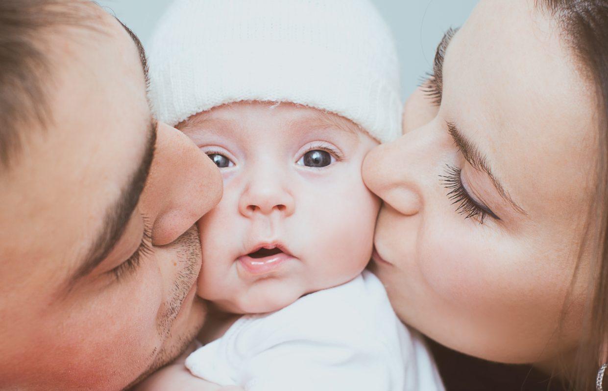 mamma papà e bebè